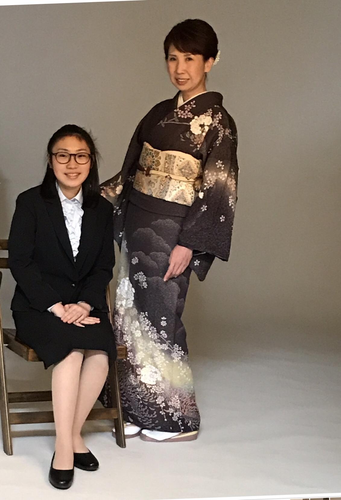 着物 入学 式 卒業式や入学式に着物の黒羽織コーデはありなの?一つ紋や古着でも大丈夫? |
